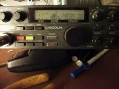 President Lincoln HAM Radio 10 meters Survival radio