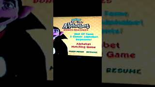 Seasme Street All Star Alphabet but it recorded on VHS