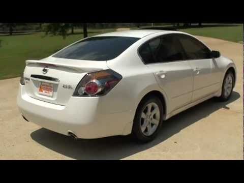 2008 Nissan Altima For Sale >> 2008 NISSAN ALTIMA 2 5SL WHITE FOR SALE SEE WWW SUNSETMILAN COM - YouTube