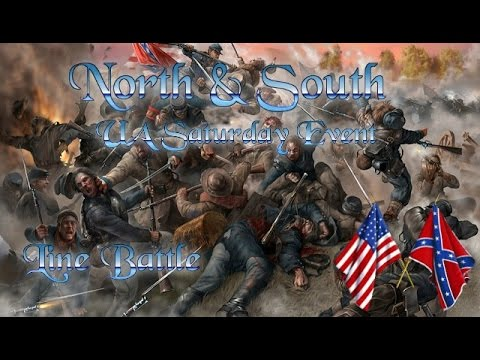Mount & Blade: Warband Mod Event   North & South   Line Battle 02.05.15