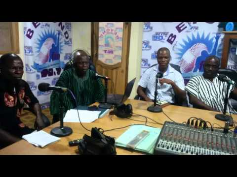 Land Grabbing Awareness and Prevention in Ghana 2016  Beyond FM Radio Kwanta South