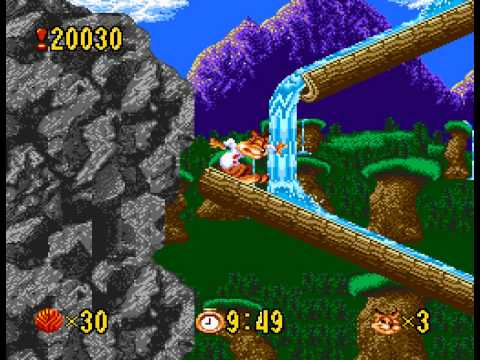 Bubsy - Vizzed.com Play Epic die from log slide - User video