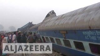 India train derailment kills almost 100 people