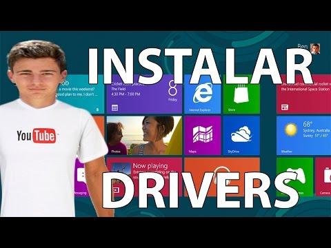 Instalar o Actualizar Drivers