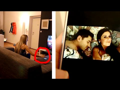 Snooping on Boyfriend's Phone Prank Goes CRAZY!!