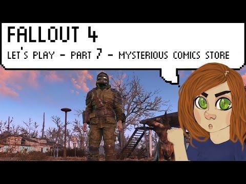 Fallout 4 - part 7 - comic books shopping