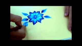 Corso one stroke. Tutorial tecnica one stroke painting