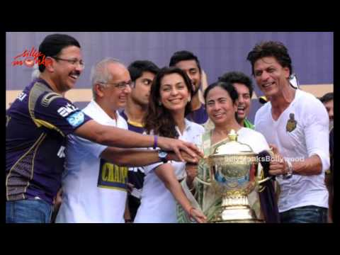 Shah Rukh Khan was the man in focus after Kolkata Knight Riders won the IPL crown for the second time in three years at Bangalore's Chinnaswamy Stadium on Su...