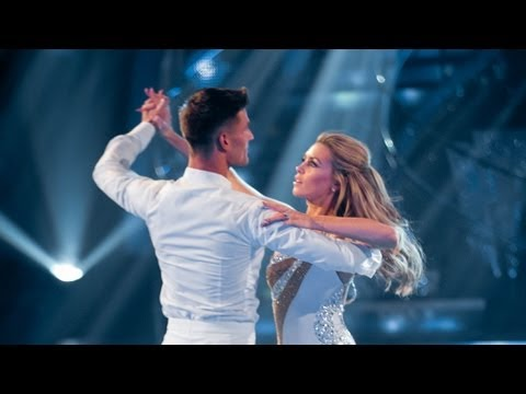 Abbey Clancy & Aljaz Skorjanec Waltz to 'Kissing You' - Strictly Come Dancing 2013 Week 1 - BBC One