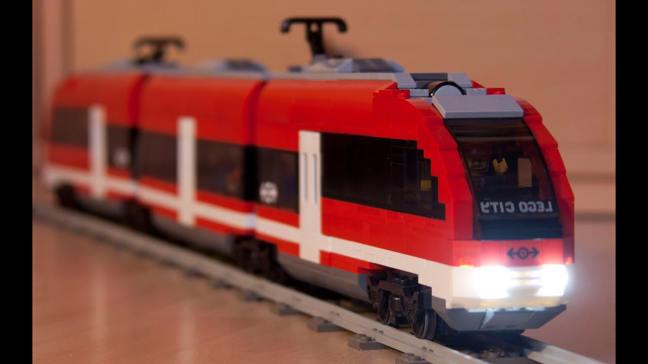 Lego City Passenger Train 7938 7938