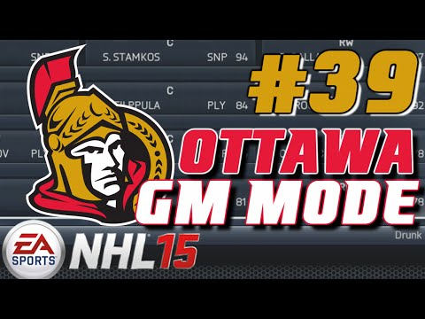 "NHL 15: GM Mode Commentary - Ottawa ep. 39 ""Round 3"""