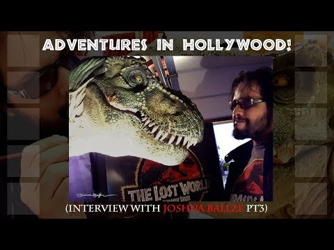Joshua Ballze Interview (pt3) - Hollywood// Celebrity Paleo Enthusiasts// Scientists in Films