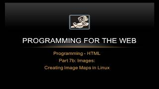How to create an HTML Image Map in Linux and MacOS - Programming for the Web