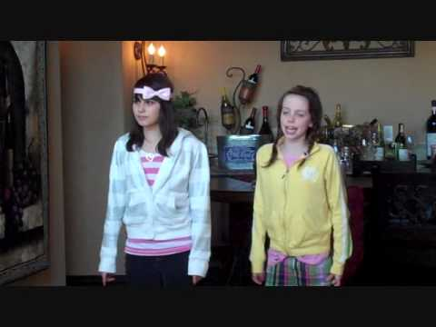 Lauren and Dani Cimorelli singing Baby Music Videos