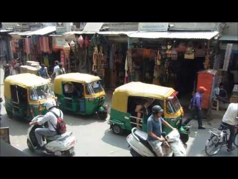 Paharganj desde Sam´s Bar (Nueva Delhi)