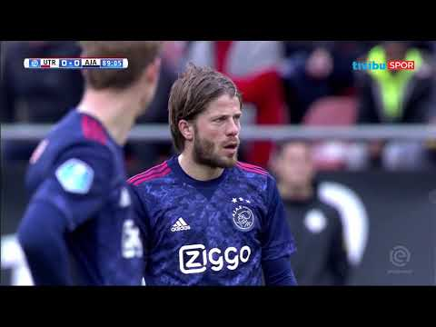 Hollanda Ligi 20. Hafta | Utrecht 0-0 Ajax Maç Özeti