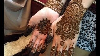 Easy And Cute Henna Design For Beginners, Step By Step Description Of ...