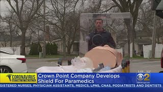 Plastic Shield Developed For First Responders Who Are Fighting COVID-19