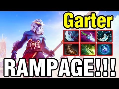 RAMPAGE!!! - Garter Plays Phantom Lancer - Dota 2