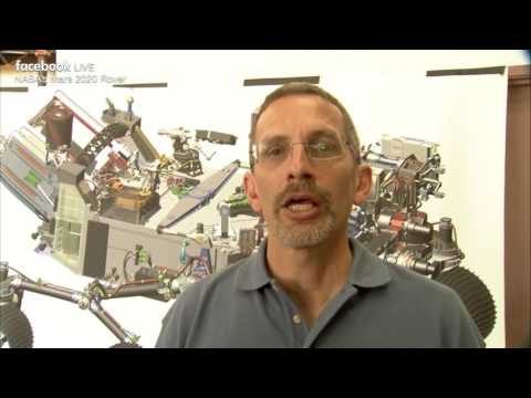 NASA Does Facebook Live Update on the Next Mars Rover