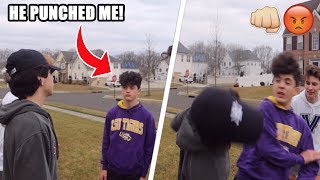 I GOT PUNCHED BY MY GIRLFRIENDS EX BOYFRIEND! (CAUGHT ON CAMERA)