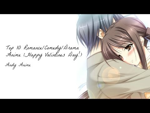 Top 10 RomanceComedyDrama Anime | HD 1080p | Happy Valentines...