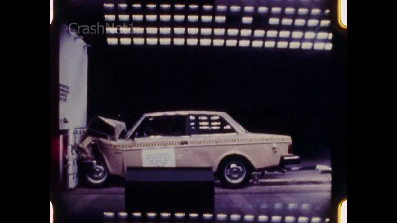 Volvo DL | 1982 | Frontal Crash Test | NHTSA - YouTube
