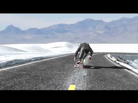 Rubim Downhill vinheta em 3D