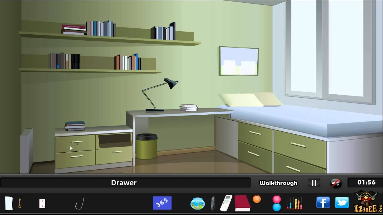 Modern city house escape walkthrough youtube for Minimalistic house escape 5 walkthrough