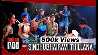 Sindhubhairavi Thillana: Tom Ta Taara || IndianRaga Fellows