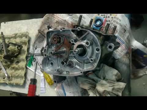 YAMAHA RX 100 RESTORATION || CRANK N  GEAR ASSEMBLING OF ENGINE || PART 2 modified yamaha r3