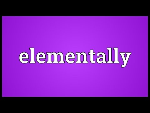 Header of elementally