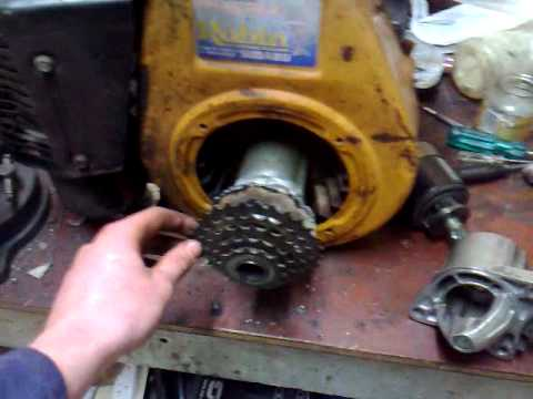 Robin Homemade Starter Motor Setup Youtube