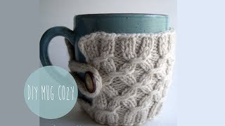 KNITTING TUTORIAL - SMOCKED MUG