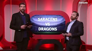 Anglo-Welsh Cup Round 3: Saracens v Dragons