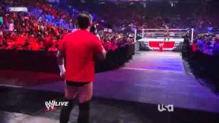 WWE RAW 04/25/11 Orton vs Ziggler