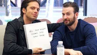 EVANSTAN best moments during CACW press tour 2016 - 七年之熟