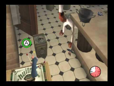 ratatouille movie game walkthrough part 15  wii