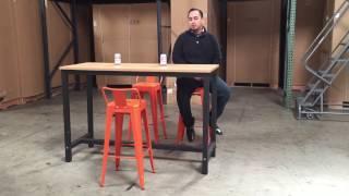 barstool high chair table cafe coffee shop bar stool