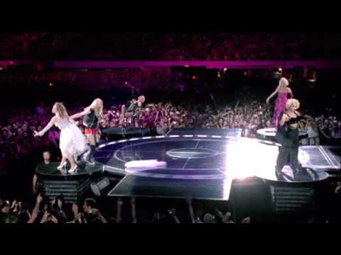 Madonna - She's Not Me (Sticky &amp; Sweet Tour) HD DVD