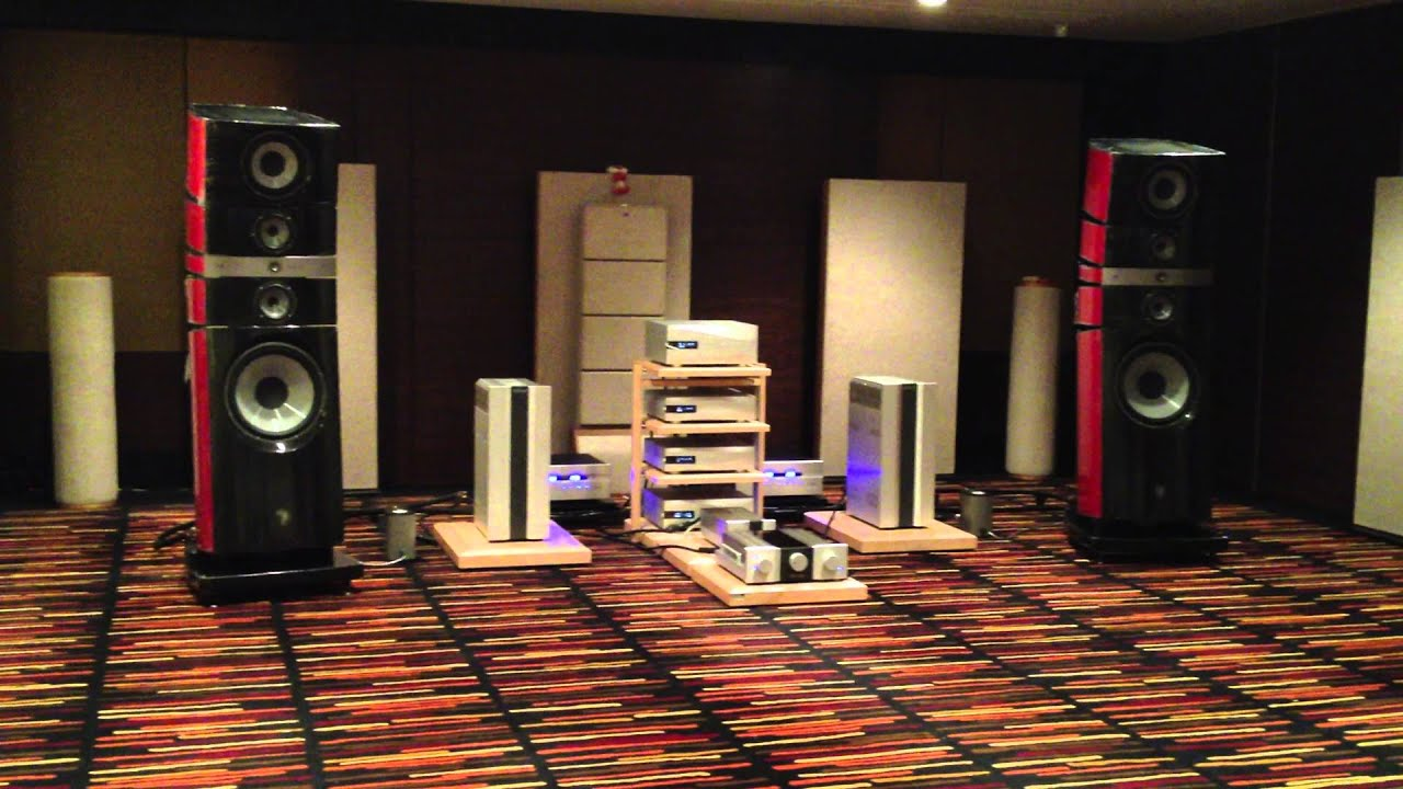 bav bangkok high end show 2013 focal grand utopia be dcs octave electronics youtube. Black Bedroom Furniture Sets. Home Design Ideas