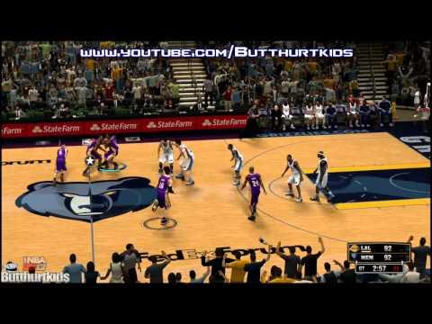 NBA 2K13 Los Angeles Lakers vs Memphis Grizzlies