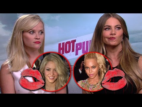 Sofia Vergara y Reese Witherspoon Quieren Besarse con Shakira- Hot Pursuit
