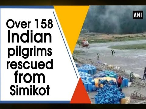 Over 158 Indian pilgrims rescued from Simikot - Nepal News