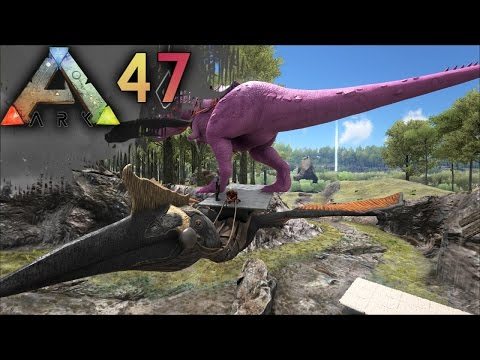 ARK: SURVIVAL EVOLVED E47 - How to tame Quetzalcoatlus! Gigantic FLYING DINO! | Docm77 [1080p]