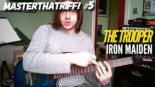 """The Trooper"" by Iron Maiden - Guitar Lesson w/TAB - MasterThatRiff! 5"