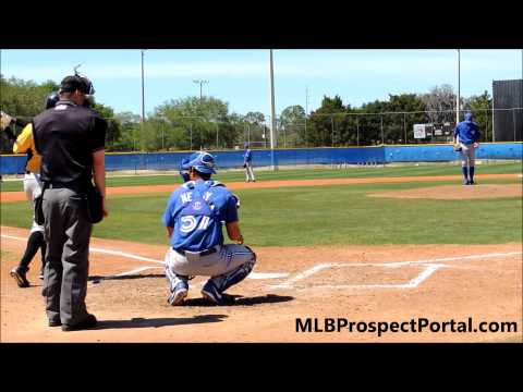 Daniel Norris vs. Josh Bell - Pirates @ Blue Jays - Minor League Spring Training 2013