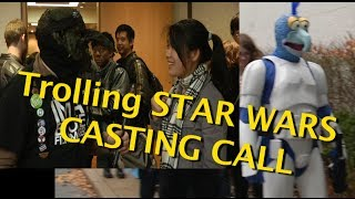 Trolling Star Wars Open Casting Call in Troy Michigan