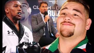 IS ANDY RUIZ JR THE NEXT BUSTER DOUGLAS? A ONE HIT WONDER?