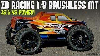 ZD Racing 1/8 Monster Truck UNDER $250 - Speed Runs 3S & 4S